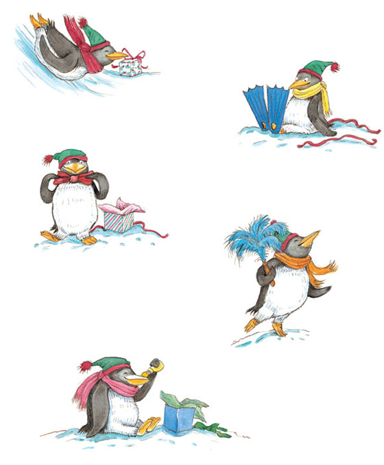 Tacky the Penguin - illustration by Lynn Munsinger