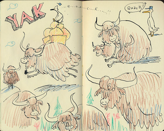 yak sketches