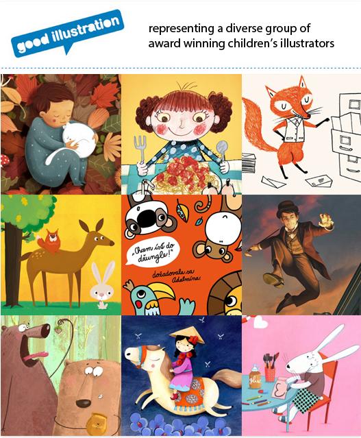 http://goodillustration.com/children-illustrators/