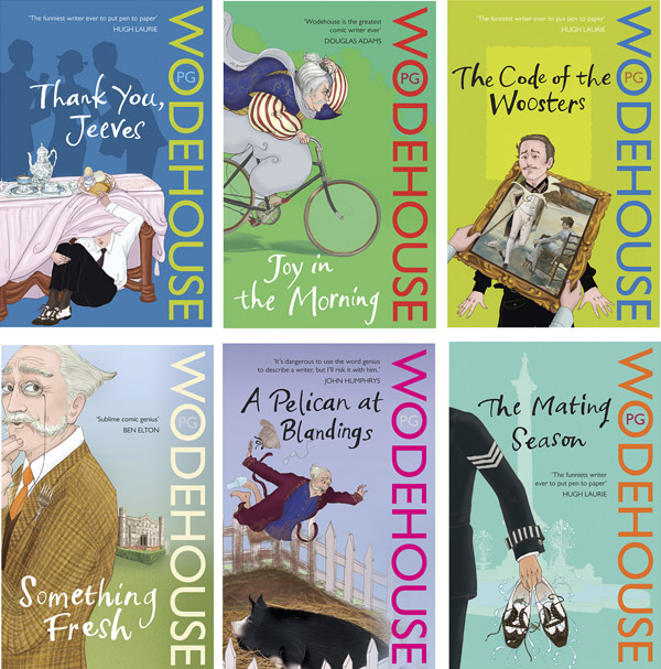 SAMPLE OF PG WODEHOUSE COVERS_600